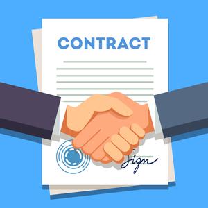 contract- کسب درآمد از بلاگ در وردپرس