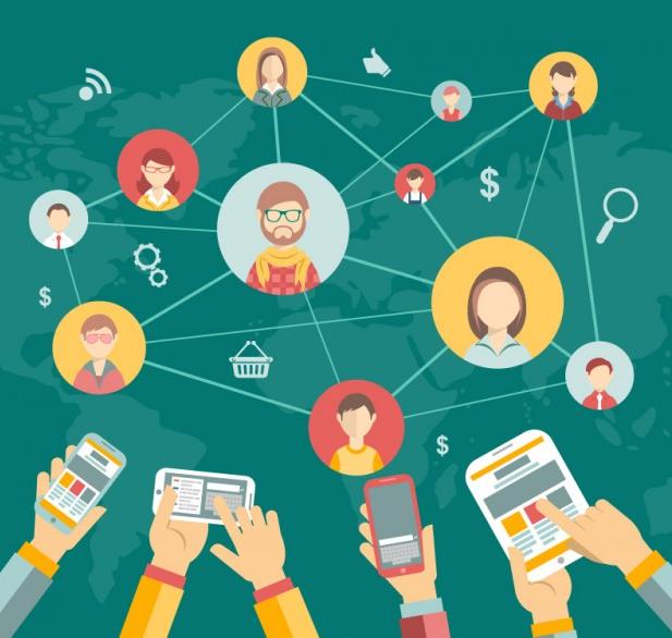 اثر منفی شبکههای اجتماعی- social share