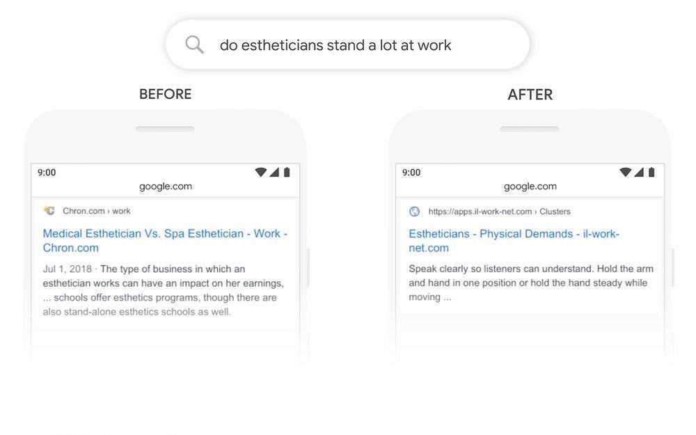 الگوریتم گوگل برت چیست