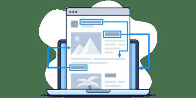 استفاده از لینک های داخلی