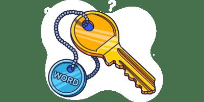 کلمات کلیدی در سئو