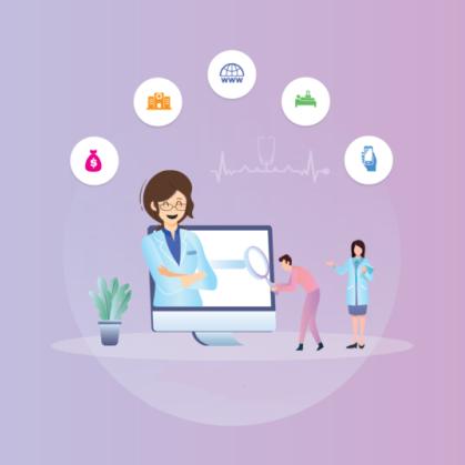 طراحی سایت نوبت دهی پزشکی آنلاین