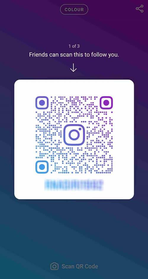 QR Code مختص صفحه اینستاگرام خودتان