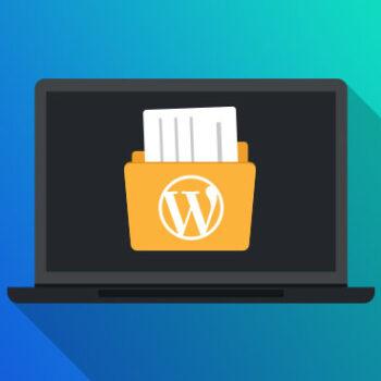 افزونه مدیریت فایل وردپرس