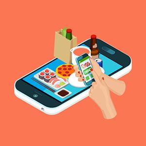 وبسایت رستوران در موبایل